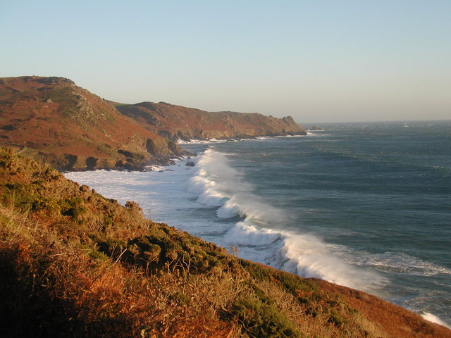 Waves breaking into Gara Beach
