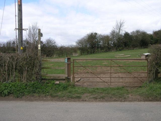 Footpath to Baron's Cross