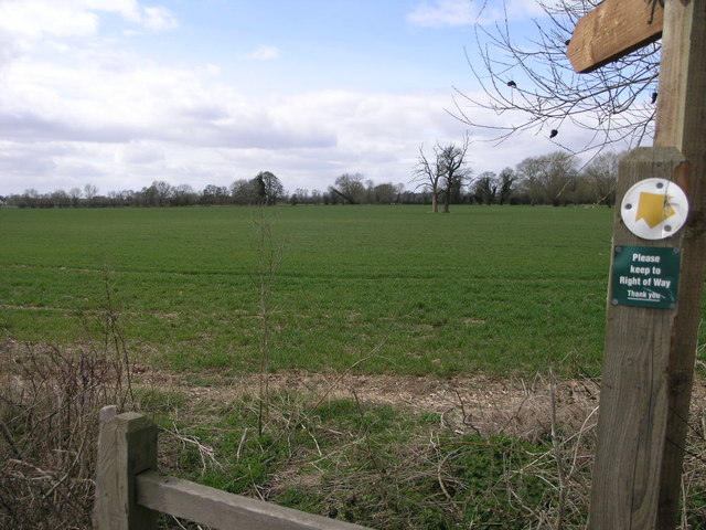 Footpath to Ivington Common