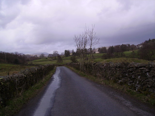 Country Road near Windermere