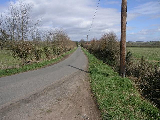 Lane to Elms Green
