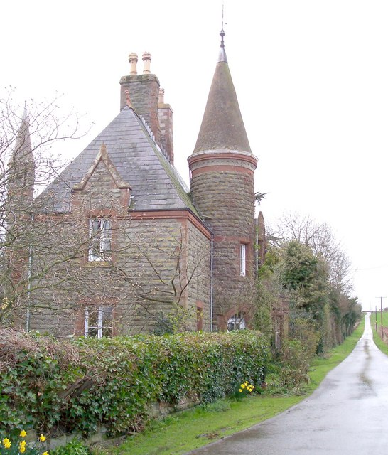 Gatehouse & Drive to Thing-hill Grange
