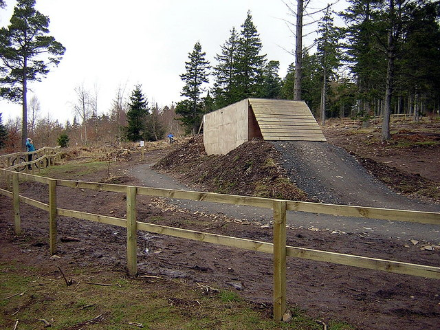 Freeride Area in Glentress Forest