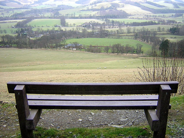 Viewpoint on Cardie Hill
