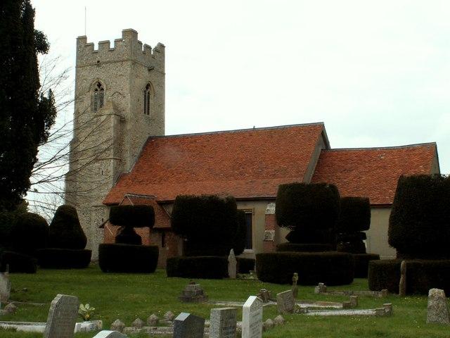 Parish church of Borley, Essex
