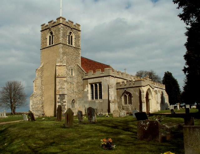 All Saints church, Acton, Suffolk
