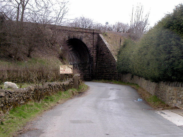 Bridge on The Leeds to Carnforth Railway Line