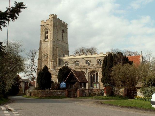 St. Lawrence church, Great Waldingfield, Suffolk