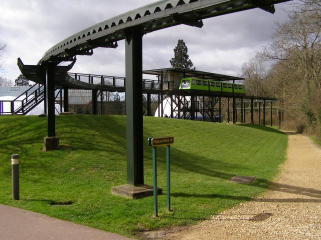 Northern monorail station at Beaulieu