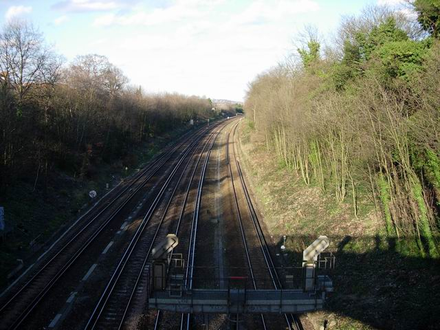 Main line to London