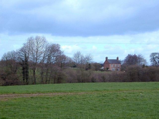 Farmhouse at Brindley, Cheshire
