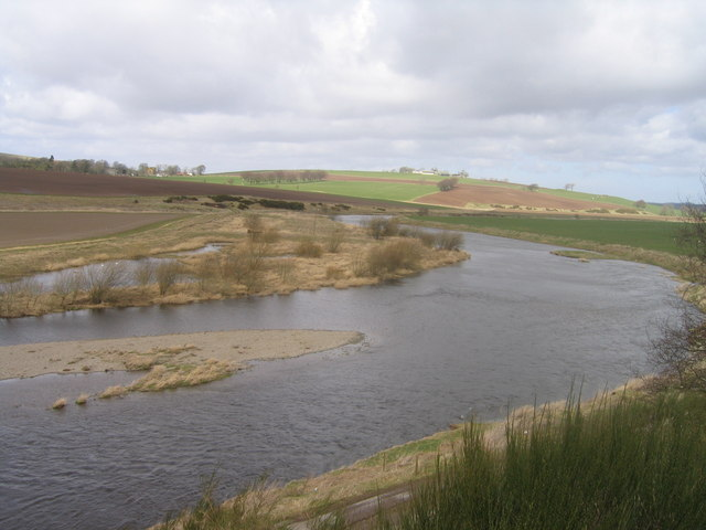 Meander in the River Clyde