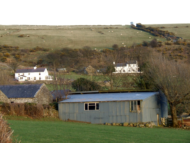 Farm Buildings above llanfairfechan