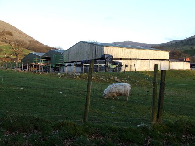 Farm Buildings above Llanfairfechan