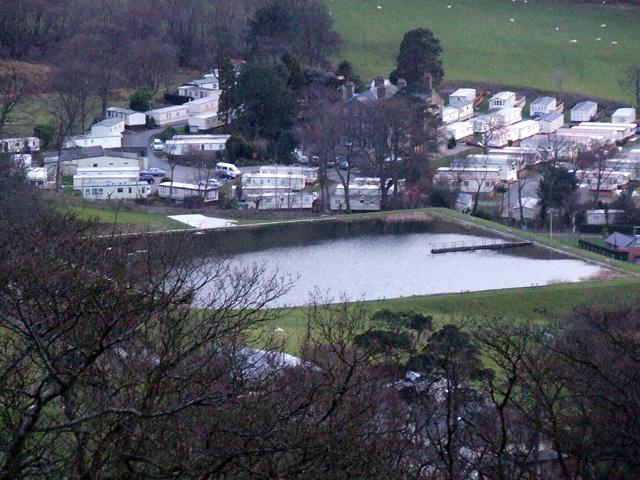 Graiglwyd Fishing lake and caravan park
