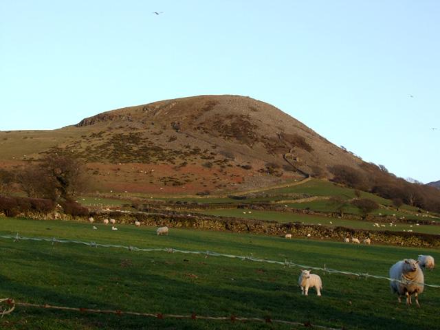 Small hill above Llanfairfechan
