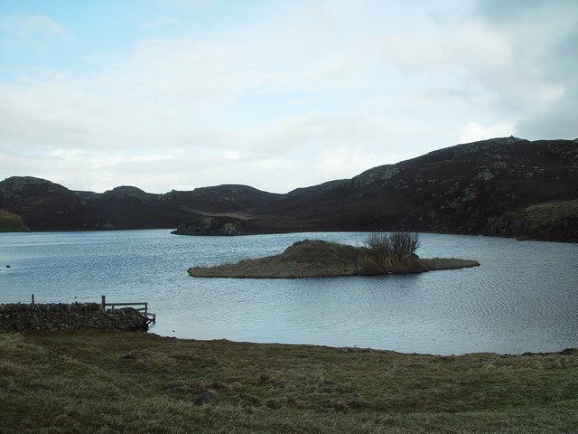 North Loch of Hostigates, Shetland