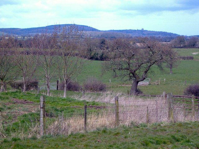View of Spurstow from High Ash Farm, Brindley
