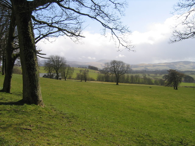 Farmland Towards Cormiston