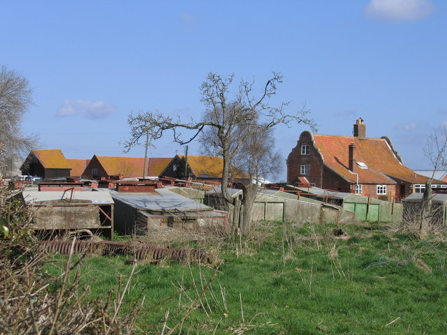 Orchard Farm seen from A146