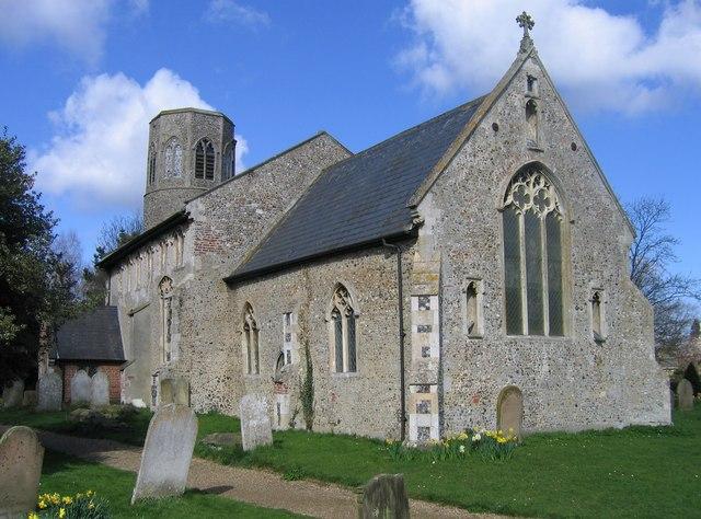 All Saints, Poringland