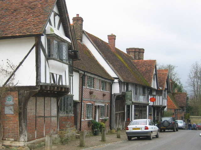 Chiddingstone Village High Street
