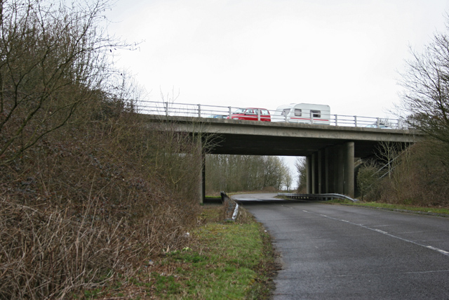 M3 bridge just south of Junction 8