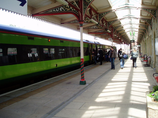 Platform at Wrexham General