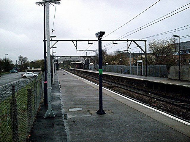 Hockley Station - Southend Bound Platform