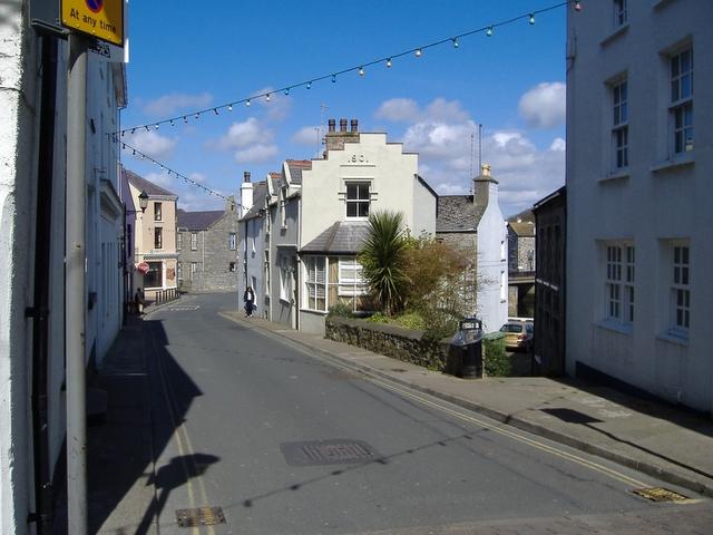 Bank street, Castletown