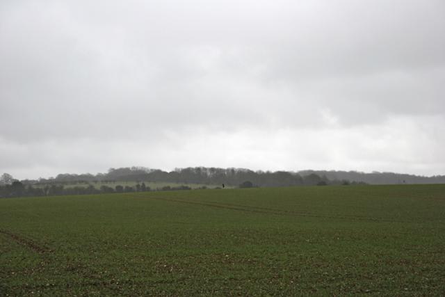 Farmland southeast of Chilton Candover