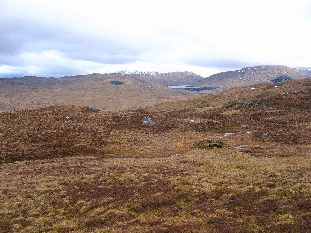 Northern slopes, Beinn Ghlas