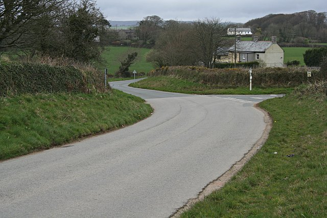 Road Junction in the vicinity of Treffry
