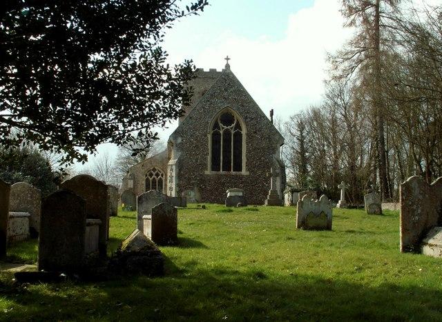 St. Mary's church, Brent Eleigh, Suffolk