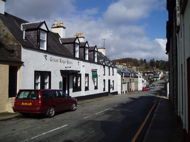 The Cross Keys Hotel, New Galloway