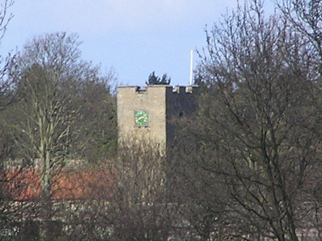 Clervaux Castle : from Richmond Road.