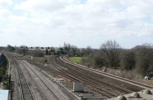Railway Junction, Church Fenton