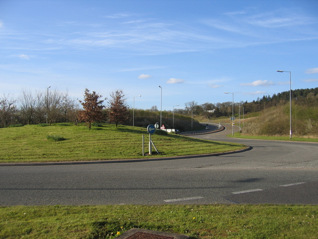 Southern end of Alvechurch Bypass