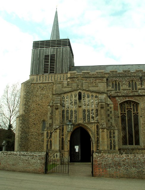St. Mary's church, Bildeston, Suffolk