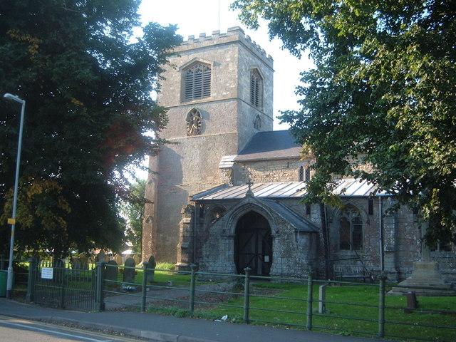 Ingoldmells church
