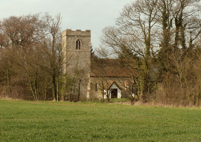 St. Mary's church, Naughton, Suffolk