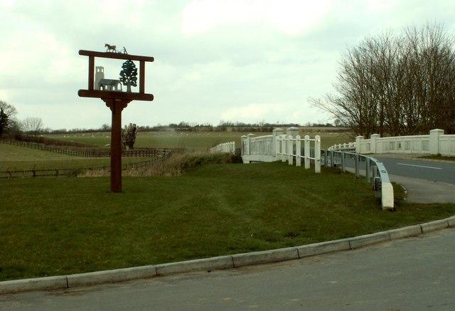 Village sign, Semer, Suffolk