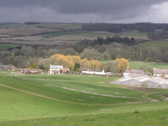 Southover from Tibbs Hollow, Frampton