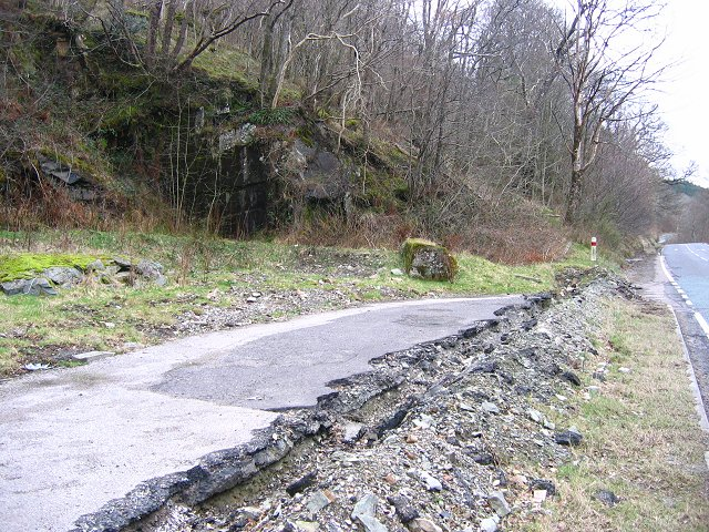 Roadside quarry
