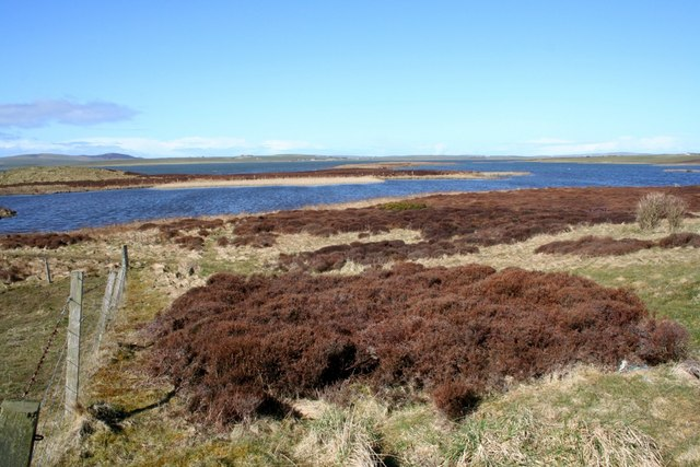 Harray Loch, Long and Ling Holms