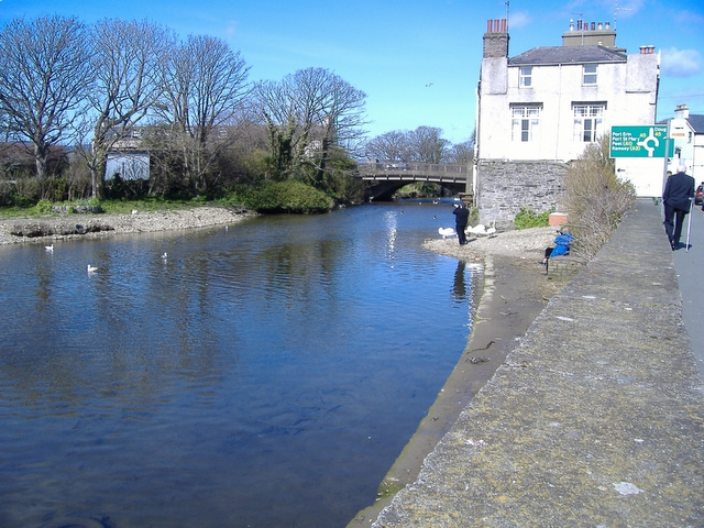 Silverburn river, Castletown