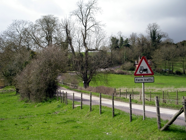 The A30 at Nine Mile Water Farm