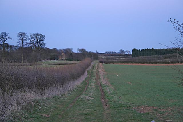 Farmland near Gorse Lane