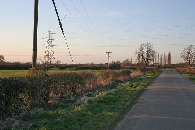 Sedgebrook Road near Woolsthorpe