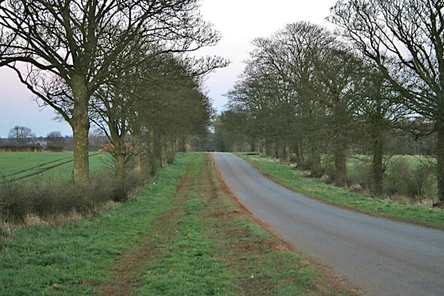 Belvoir Road near Denton